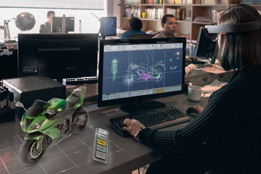 Microsoft HoloLens Pivot Point