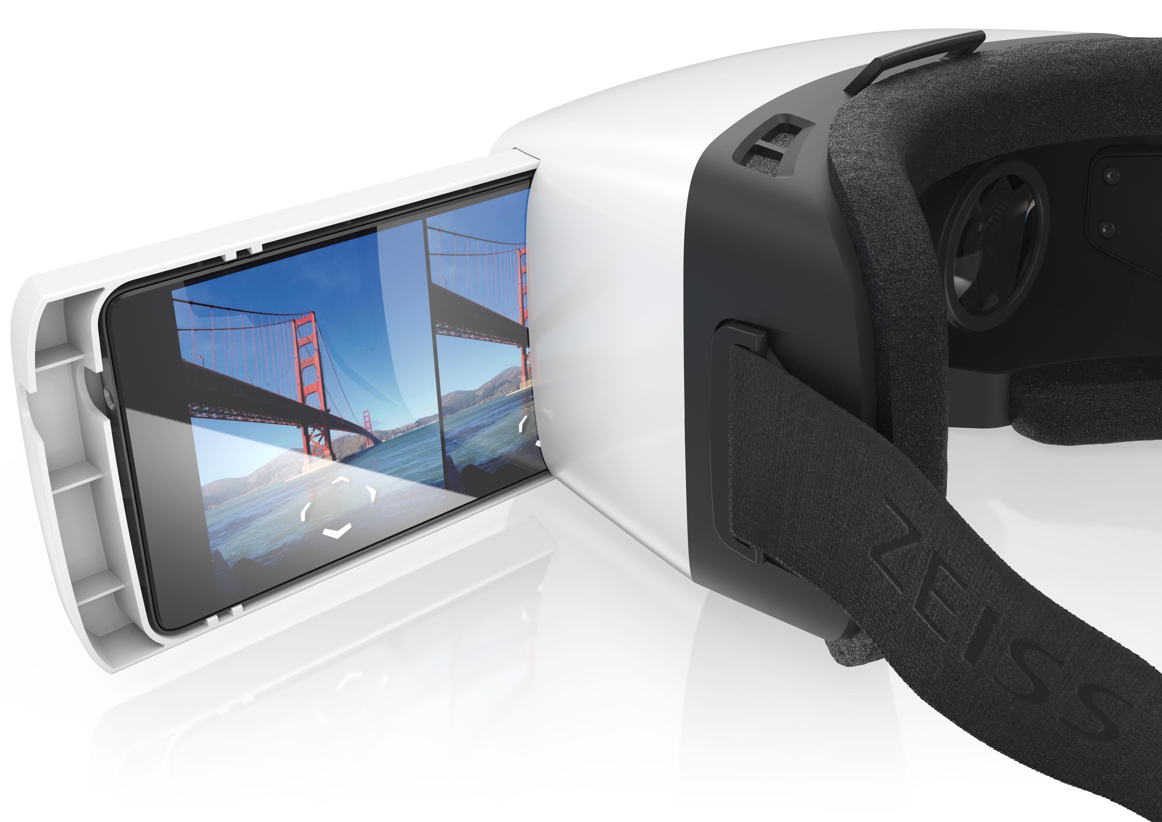 ZEISS VR ONE mit Mobiltelefon